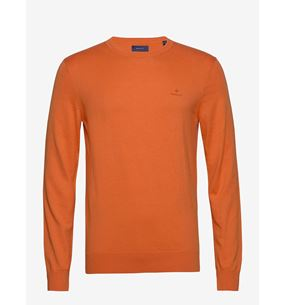 Cotton Cashmere C-neck