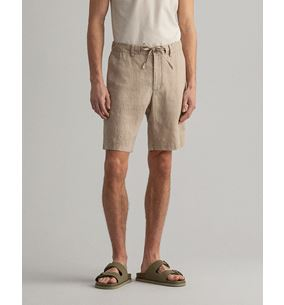 RELAXED LINEN DS SHORTS