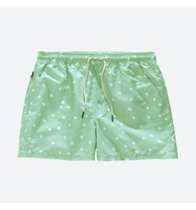 OAS Minty Dot Swim Shorts