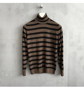 Striped Rollneck