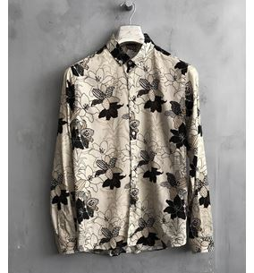 Button Down Satin Shirt